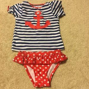 EUC Toddler swim set/3T
